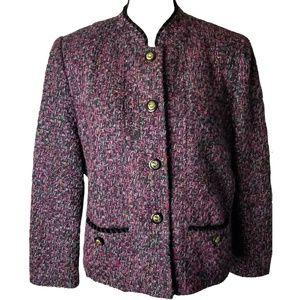 Vintage Henry Lee Tweed Blazer / Coat